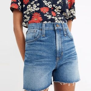 Madewell The Perfect Jean Short 26